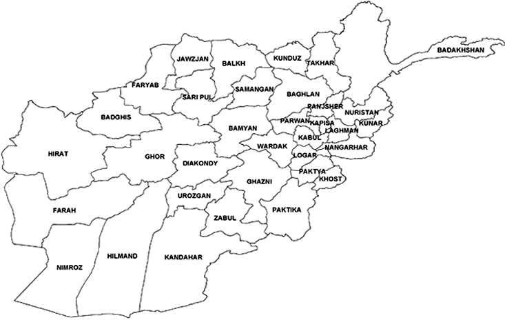 Afghanistan S Provincial Governors